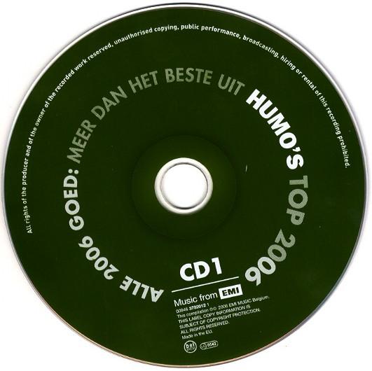 Various - Humo's Belgentop-20 De Jaren 90